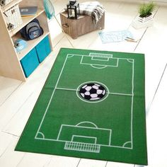 All Stars Soccer Ground Kids Rug 39 L x 60 W >>> Details can be found by clicking on the image.Note:It is affiliate link to Amazon.