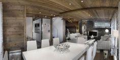 Elegant Hi-tech Ski Chalet in Courchevel | Modern House Designs