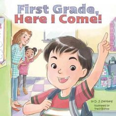 The funny follow-up to Kindergarten, Here I Come! First gradeit's the big time! After all, it's a real honest to goodness grade. In verses that are both funny and full of heart, D.J. Steinberg celebra