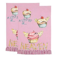 I pinned this Julia Junkin A Little Bit of Heaven Kitchen Towel (Set of 2) from the Julia Junkin and Monica Lee event at Joss and Main!