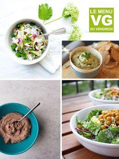 Menu VG spécial bols Tacos, Vegan, Breakfast, Ethnic Recipes, Chocolate Cream, Bowls, Greedy People, Friday, Recipes