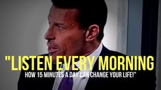 Tony Robbins: This Is How Powerful Your Thoughts Are (EYE OPENING SPEECH) Use focus with Mindset break it down in small steps and I get all the success I want Becoming A Better You, How To Become, Mind Power, Tony Robbins, How To Better Yourself, Law Of Attraction, Internet Marketing, Personal Development, Coaching
