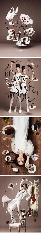 pour Chocolate Gravity, Beer Label Design, Journal Du Design, Chocolate Art, Art Museum, Still Life, Photos, Photography, Inspiration