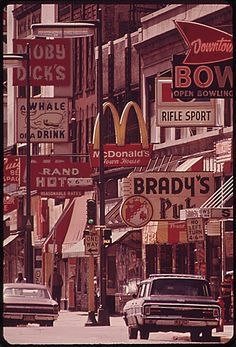 Minneapolis, 1973 (US National Archives) #Sign