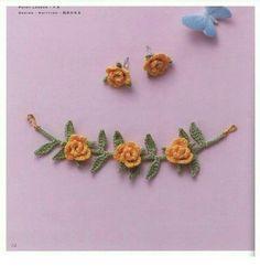 Tecendo Artes em Crochet: Bijuterias Lindas de Crochê com Gráficos!