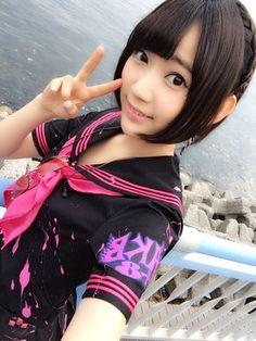 Miyawaki Sakura (宮脇咲良) HKT48, japanese idol #AKB48