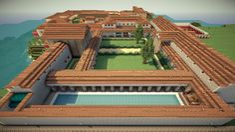 Roman Villa - Villa Syndexioi (World Save, Schematic) Minecraft Project