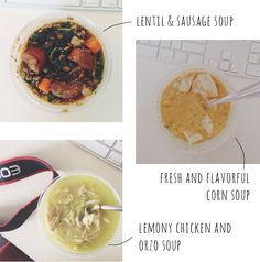 Tired of planning lunches for work? Host a soup swap :)