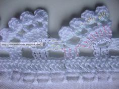 Crochet Dollies, Crochet Lace Edging, Crochet Headband Pattern, Crochet Doily Patterns, Crochet Borders, Crochet Squares, Filet Crochet, Crochet Yarn, Crochet Flowers