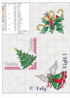Schema punto croce Bordini 05