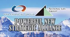 #FRAFinancialGroup has formed a strategic alliance with National Life Group®, making the Montpelier, VT-based company its first flagship product provider.
