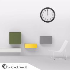 An ideal Clock for an ideal home!! #theclockworld #ahmedabad #home #decor #wall #clocks India's first store selling only Clocks