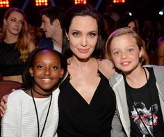 Angelina Jolie Shares an Adorable Mother-Daughter Moment at the Kids' Choice Awards #InStyle