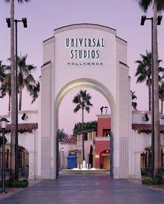 Fachada da universal studios