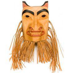 Bear Mask by John P. North Coast, West Coast, John Wilson, Bear Mask, First Nations, Pacific Northwest, Helmets, Masks, Carving
