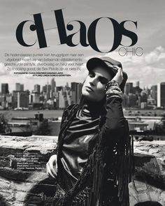 chaos chic: jana knauerova by chris craymer for marie claire netherlands september 2013