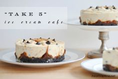 """""""Take 5"""" Ice Cream Cake by The Chronicles of Home featured on iheartnaptime.com! YUM!"""