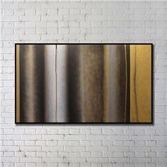"""Art contemporain Peinture numérique abstraite de pulvérisation+Peints à la main cadre noir Taille48""""X28"""""""