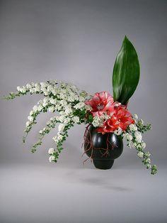 Ikebana Sogetsu style