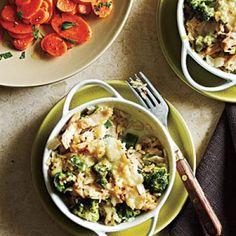 Broccoli and Rice Casseroles Recipe   CookingLight.com
