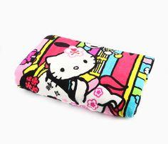 tokidoki x Hello Kitty Throw Blanket: Kimono