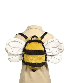 Love this Bee Winged Backpack by Fiesta on #zulily! #zulilyfinds
