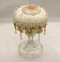 Beautiful pin cushion by Debi Designs on Etsy