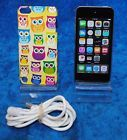 Apple iPod Touch 5th Generation Space Gray 16 GB 4' Retina Display 5MP MGG82LL/A