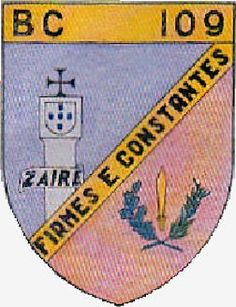 Batalhão de Caçadores 109  1961/1963 Angola