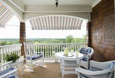Patio - traditional - porch - bridgeport - Sara Hopkins