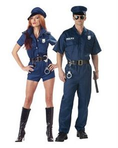 Do you think I should go as this Handcuffs Adult Couples Halloween costume this year? Cute Costumes, Adult Costumes, Costume Ideas, Party Costumes, Couple Halloween Costumes For Adults, Halloween Kostüm, Cop Costume, Old And Teen, Couples