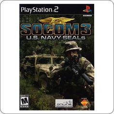 PS2 Socom 3 Navy Seals R$19.90
