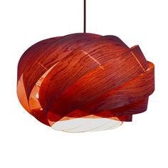 Wood Pendant Lighting.Beautiful NEST Pendant Lamp,made of real rosewood…