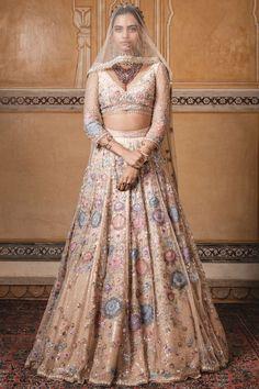 Shop Tarun Tahiliani Embroidered Lehenga Set , Exclusive Indian Designer Latest Collections Available at Aza Fashions Indian Attire, Indian Outfits, Indian Bridesmaid Dresses, Indian Dresses, Wedding Dresses, Lengha Choli, Lehnga Dress, Anarkali, Tarun Tahiliani