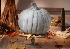 Craft Painting - Faux Concrete Pumpkin