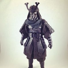 Custom samurai stormtrooper figure made by Justin Alan Volpe as a commission: