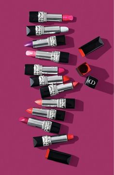 Celebrate the love of Rouge Dior with the Couture Color collection, featuring iconic reds, vibrant colors, passionate pink, romantic rosewoods and extreme and surprising matte shades.