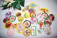 Crochet Vintage Tags by CheekyVintageCloset on Etsy, $28.50
