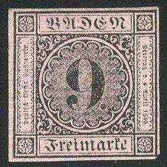 eine der teuersten Briefmarken Deutschlands und unter den
