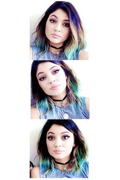 Kylie >>> really don't like the Kardashian/Jenner clan... At all. But the hair.... I had to