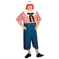 Raggedy Andy Adult Plus Costume - $41.99