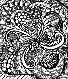 Doodle Coloring Book For Adults - Calming Doodles Vol 1 – ColorIt