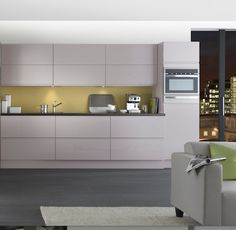 Kitchen Compare works with many big brands such as B&Q to ensure that you get the best price for your kitchen renovation Bright Kitchens, Grey Kitchens, Kitchen 2016, Kitchen Ideas, Kitchen Inspiration, Cashmere Gloss Kitchen, John Lewis, Independent Kitchen, Kitchen Prices