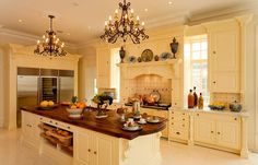 The name of this pin is Modern Kitchen Design Ideas. It is actually just one of many terrific photo samples in the post titled Contemporary Kitchen Design Ideas. Tuscan Kitchen Design, Country Kitchen Designs, New Kitchen Designs, Luxury Kitchen Design, Luxury Kitchens, Home Design, Home Kitchens, Tuscan Kitchens, Small Kitchens