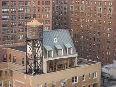 manhattan rooftop dwelling