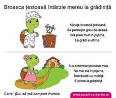 Broasca testoasa intarzie mereu la gradinita - Consiliere educationala in imagini Preschool Worksheets, Kindergarten Activities, Writing Activities, Activities For Kids, Alphabet Worksheets, School Coloring Pages, Kids Poems, Pre Writing, School Lessons