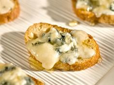 Get Bruschetta with Gorgonzola Cheese and Honey Recipe from Food Network