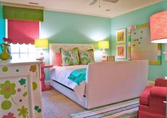 Girls Room - eclectic - kids - charlotte - Lucy and Company
