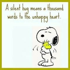 Discover and share Snoopy Quotes Hug. Explore our collection of motivational and famous quotes by authors you know and love. Peanuts Quotes, Snoopy Quotes, Peanuts Cartoon, Peanuts Snoopy, Snoopy Hug, Charlie Brown And Snoopy, Snoopy And Woodstock, Funny Quotes, Inspiring Quotes