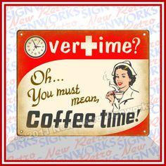 Did I hear coffee time?